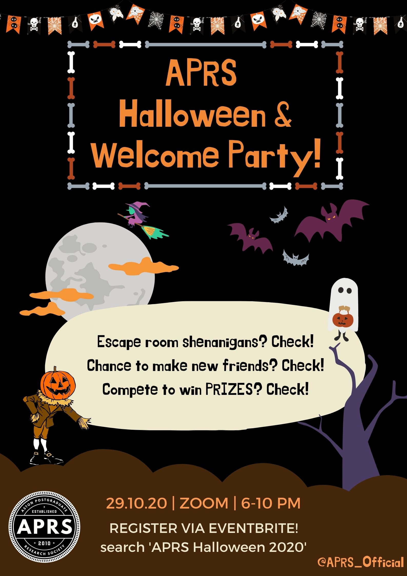 APRS Halloween Party 2020