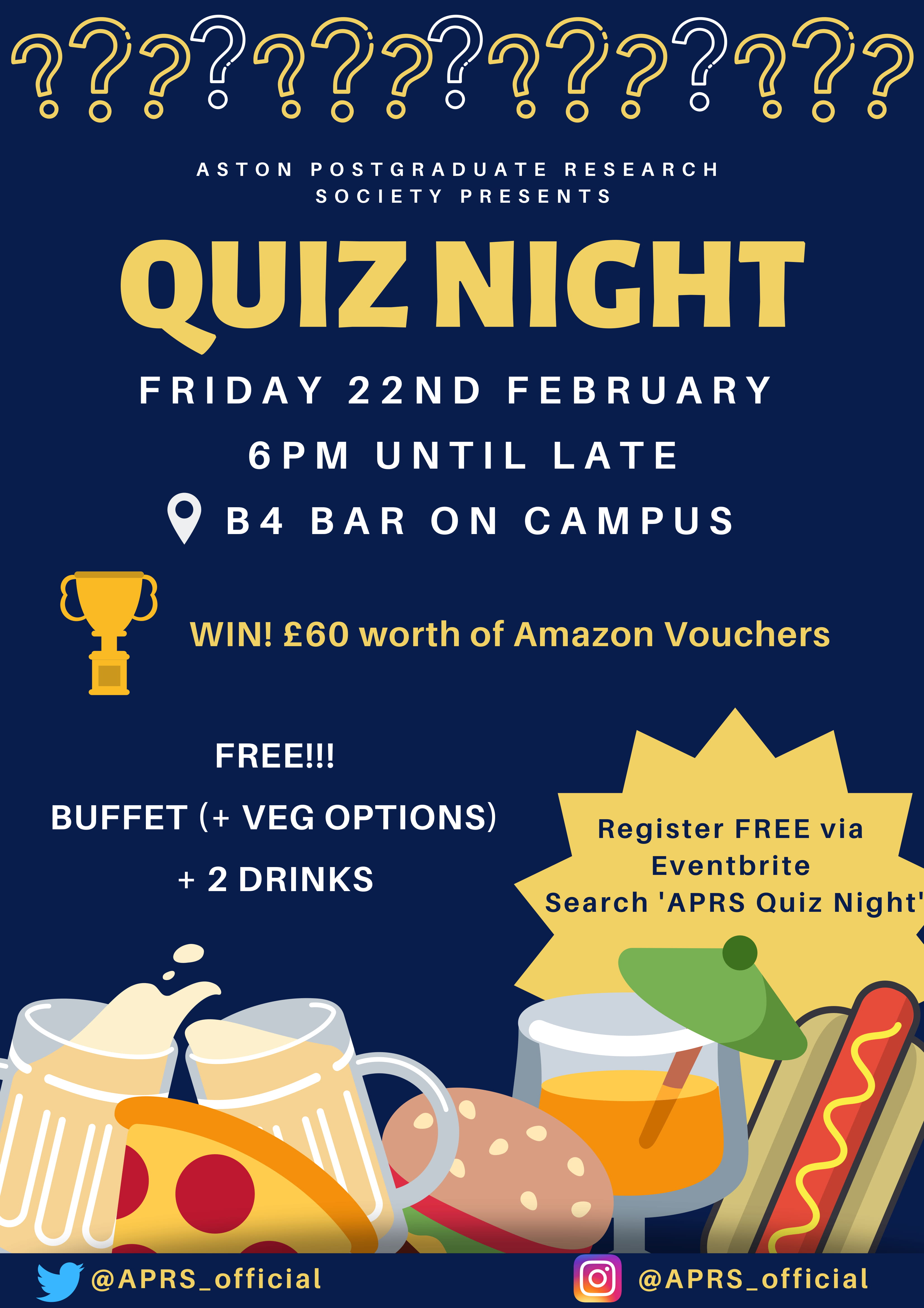 APRS Quiz Night 2019